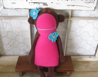 Maxine the Monkey ~handmade
