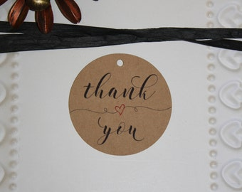 Thank you Wedding Favor tag // Bridal Shower Favor Tag // Engagement Party Favor Tag