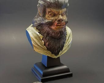 The Wolfman Inspired Bust