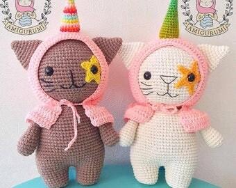 Pattern: Caticorn the Wizard- Amigurumi Crochet Pattern