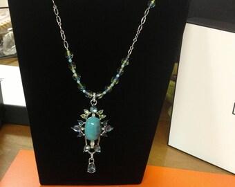 Azure Elegant Necklace ( Made in Peru)