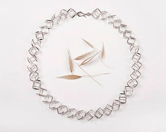 CUBE necklace. Silver 925ml