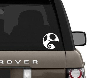 Nightmare before christmas inspired decal