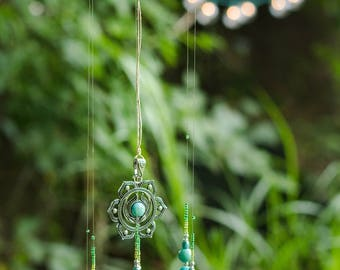 Blue Sun Catcher
