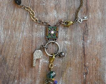 Toot-toot, Beep-beep necklace