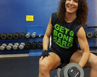 OstoVitalis Get Bone Hard Fitness T-shirt