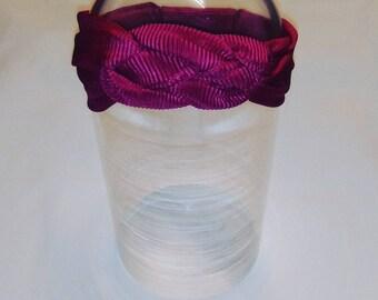 Hot pink Nautical Knot Headband Ladies