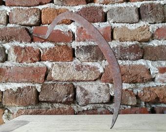 Antique harvest tool /Distressd sickle / Harvest / Vintage sickle / Antique sickle / Vintage hand sickle / Hand sickle  /Old sickle /