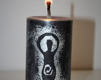 Goddess in the Details Candle   Pagan Candles   Ritual, Spell, Devotion Candle