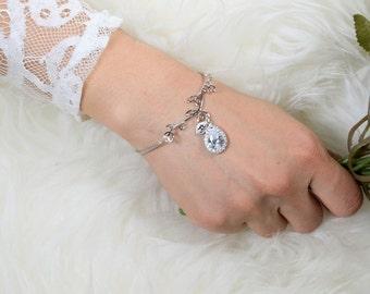 bridesmaid bracelet silver bridesmaid bracelet gold bridesmaid bracelet rose gold bridesmaid bracelet bridesmaid bracelet set of 2 3 4 5 6