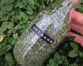 Dried Oregano Leaves - Organically Grown and Hand Harvested Herbs