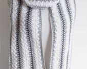 Chunky Yarn Scarf Crochet...