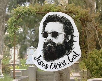 Father John Misty Vinyl Laptop Sticker | Phone Decal