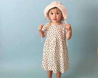 Sunhat PDF Sewing Pattern & Tutorial | Sizes 0/6 months to 4 years