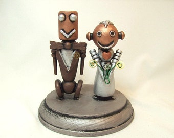 Bride and Groom Wedding Cake Topper Handmade Bride Groom Cake Top Cute Wedding Topper Husband and Wife Wood Cake Top