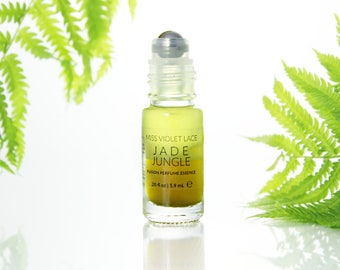 Jade Jungle perfume essence | Scent with Florals, Citrus and fresh extracts | 100% natural and vegan