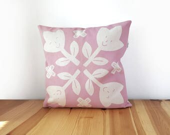 Pink Nursery decor, Kids accent pillow, Kids room decor, Playroom pillow, Nursery pillow, Baby pillow, Baby girl nursery, New born gift