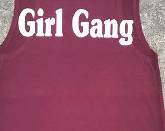 Girl gang - Gucci Gang - muscle tank