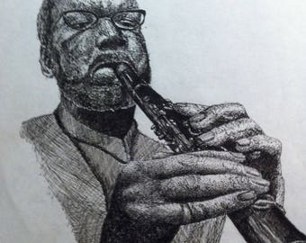 Man with Clarinet