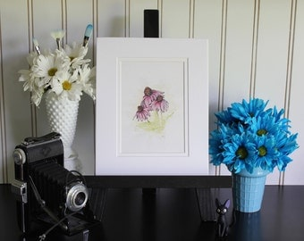 Cone Flowers - Art Print