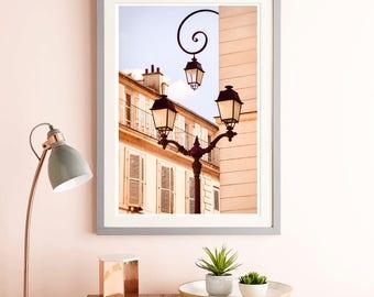 Vertical, Fine art photography, French decor, Versailles Architecture art, Beige Pastel, Large wall art, Architectural prints, 12x18, 24x36