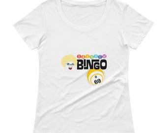 Sylvia OStayformore O69 Bingo Ladies' Scoopneck T-Shirt