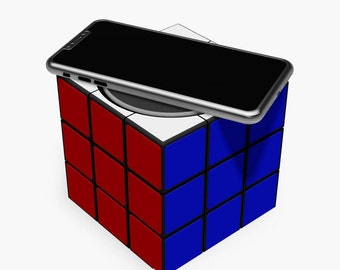 Rubik's Cube - Qi Compatible Wireless Phone Charger