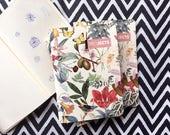 Petit Carnet, A6, 30 pages, Botanique, petit cahier, cadeau femme, nouveauté, cadeau collègue.