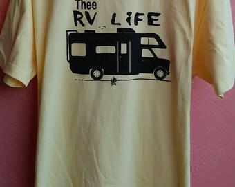 the rv life t-shirt