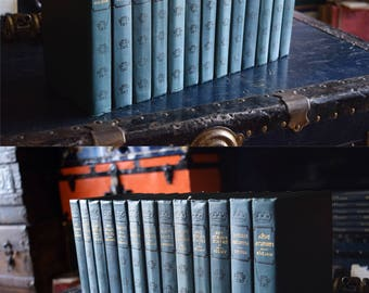 Antique Collier Book Collection - Set of 13 Hardcovers - Various Authors - Translated from Native Languages - Printed in the USA - 1900s