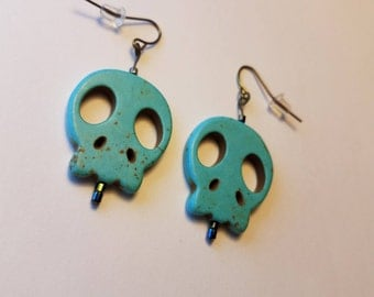 Day of the Dead - Skull Earrings - Surprise Gift Included
