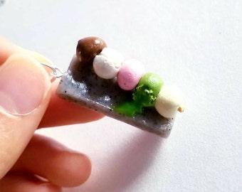 Multi-Flavored Japanese Mochi Stick Charm