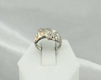 Vintage Horse Lover's Sterling Silver Ring #HORSE-SR2