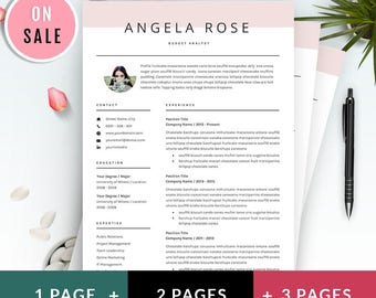resume template professional cv template for word us letter and a4 1
