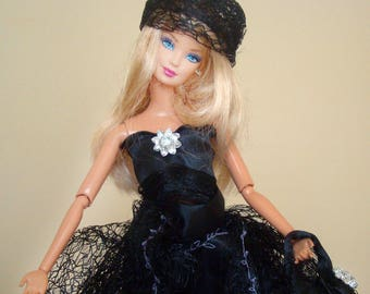"HELD 8 Haute couture French BARBIE Festival""dress outfit style fashionista or 30 cm silkstone barbie doll's clothes"