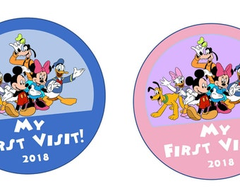 My First Visit Stickers