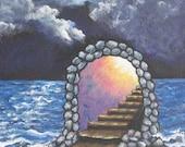 Art Print Stairway to Hea...
