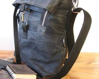 Canvas Bag, Waxed Canvas Bag, Canvas Tote Bag, Canvas Bag For Women, Crossbody Bag, Waxed Canvas Tote, Waxed Canvas Handbag, Zipper Bag