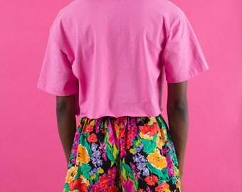 90s Vintage, Floral Shorts, 80s Shorts, Spring Shorts, Vintage Shorts, Shorts, Vintage Outfit, High Waisted Shorts, 90s, 80s, Flower Shorts