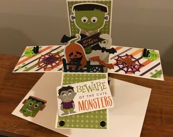 Halloween Explosion/Pop Up Card