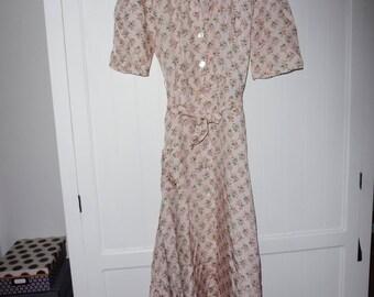 Size 36 FR - 1960s vintage dress