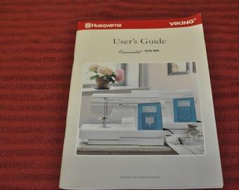 Husqvarna Viking Emerald 203/183 User's Guide