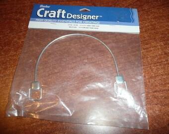 Darice Craft Designer Handle Frame Silver Color