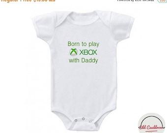 20% Xbox baby bodysuit, gamer bodysuit, new daddy gift, baby shower gift, baby birthday gift idea, baby boy bodysuit, baby girl onesie