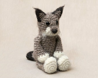 Amigurumi crochet lynx pattern, big cat amigurumi