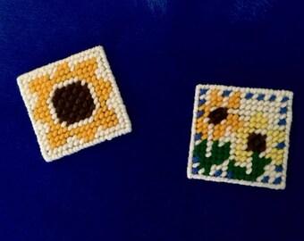 Sunflower Magnets