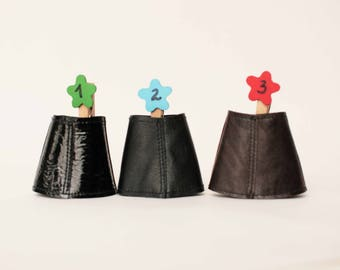Blythe skirt, Leather doll skirt, Blythe leather skirt, Black doll outfit, Blythe clothes, 1/6 scale doll skirt, Blythe short leather skirt