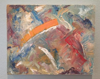 wind- original oil painting