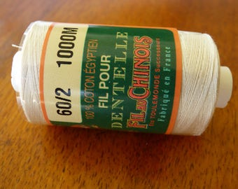 Wire of Egypt 60/2 Ecru cotton lace