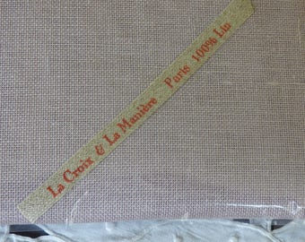 Coupon 45 * 45 cm linen 12fils ref Cross and the way